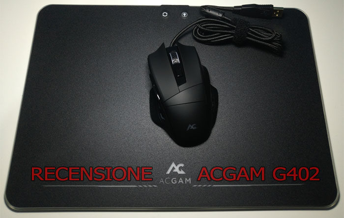 Recensione mouse gaming ACGAM: 10.000 DPI sotto i 20€! (+ tappetino)