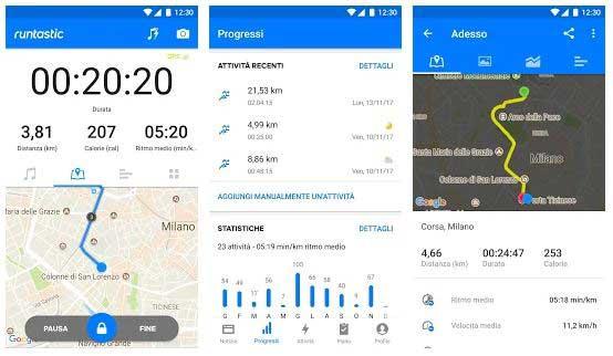 app fitness runtastic