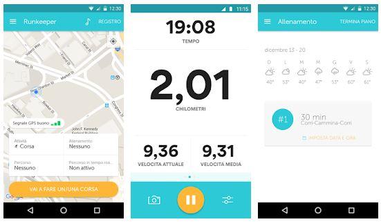 app fitness runkeeper