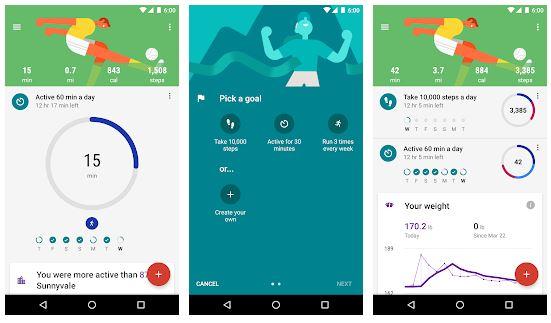 app fitness google