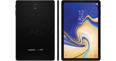 Samsung Galaxy Tab S4, le nuove immagini rivelano che la versione bianca sarà (anche) nera