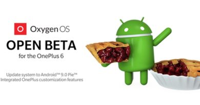 OnePlus 6 android pie 9.0