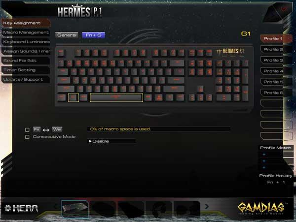 tastiera gaming gamdias