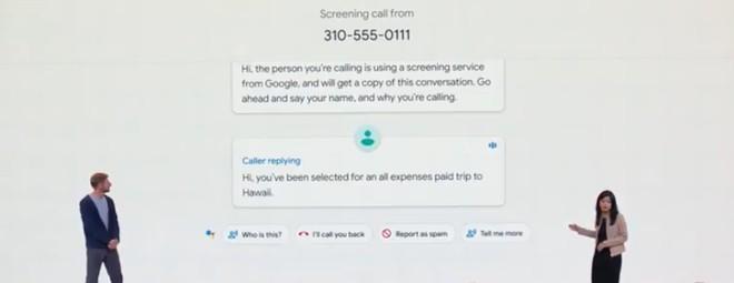 Google Pixel 3 contro spam