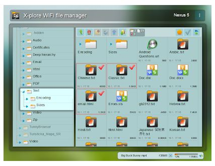 file manager android x-plore