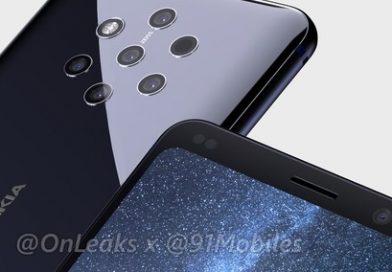 Il video promo di Nokia 9 PureView svela 5 fotocamere posteriori, Android One e Snapdragon 845