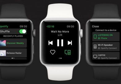 Spotify arriva su Apple Watch ma gli manca la funzione più importante