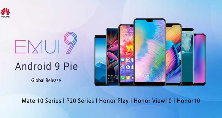 huawei android pie