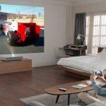 Il nuovo LG CineBeam Laser proietta 90″ in 4K a 5 cm dal muro