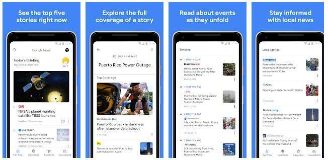 app notizie google news