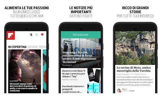 app notizie flipboard