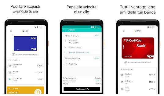 app per pagare google