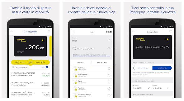 app per pagare postepay