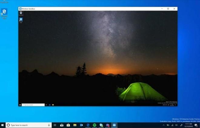 Sandbox su Windows 10