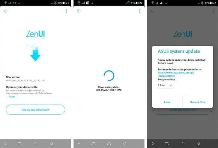 ZenFone 5Z aggiornamento