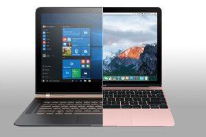 macbook vs notebook