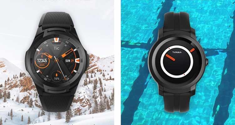 ticwatch e2 e s2