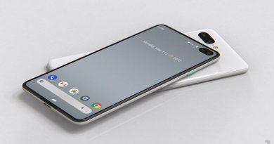 Google brevetta un display pieghevole, Pixel 4 e 4 XL appaiono in render con foro sullo schermo
