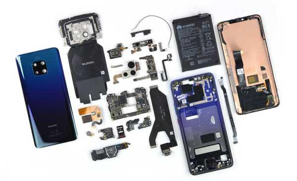 riparazione schermo telefono