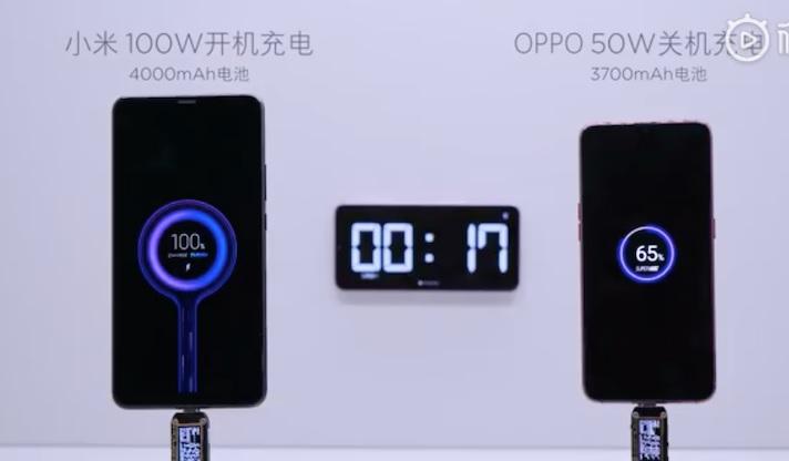 Xiaomi ricarica super veloce