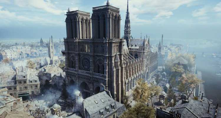 assassin's creed notre dame