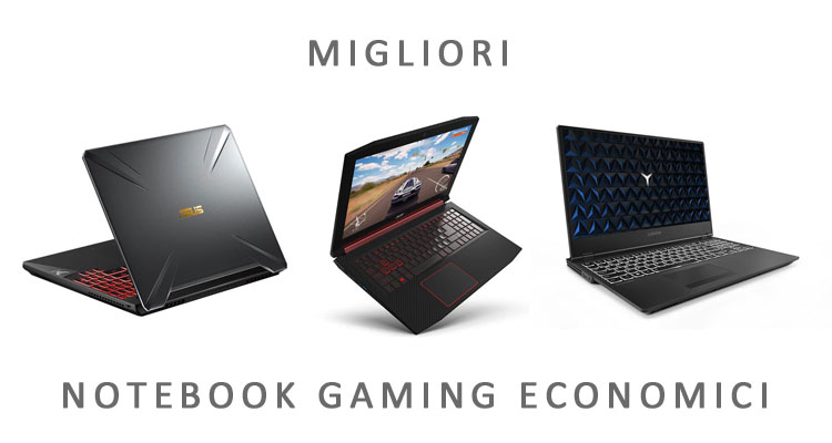 notebook gaming economici