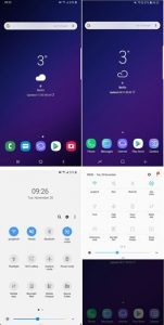 interfacce android one ui