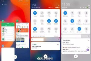 interfacce android miui