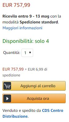 garanzia amazon