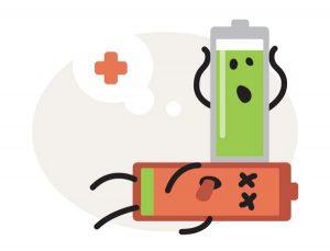 problemi batteria