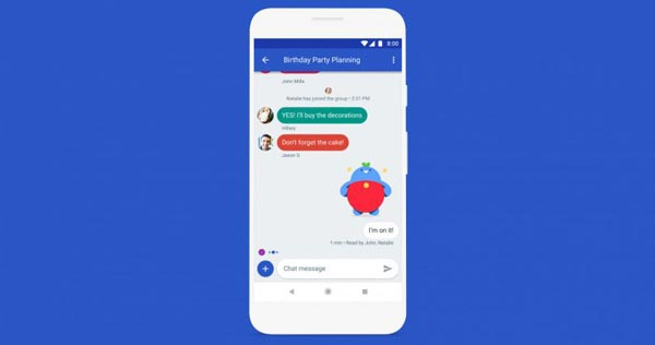 google chat sms