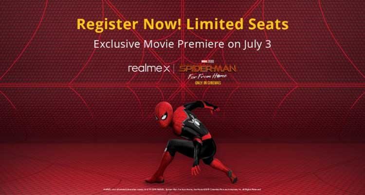 realme x spiderman edition