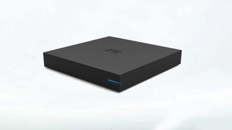 ZTE set-top box