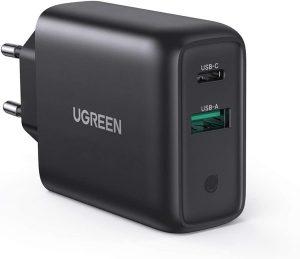 caricabatterie da muro ugreen