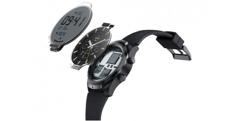 ticwatch pro doppio display