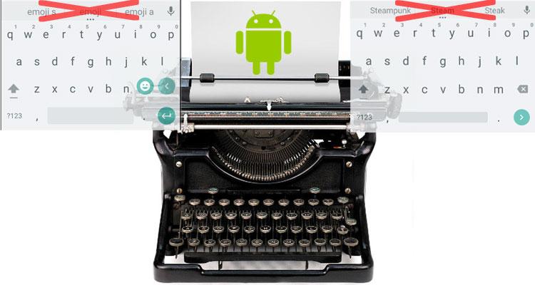 cancellare parole tastiera android