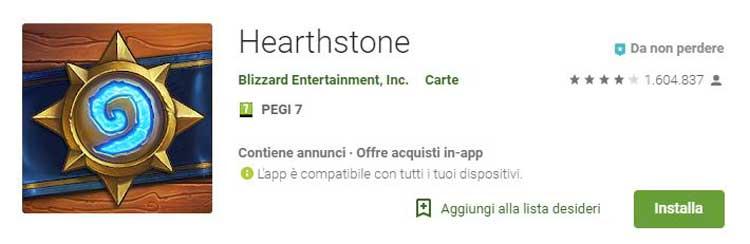 badge annunci e acquisti in app
