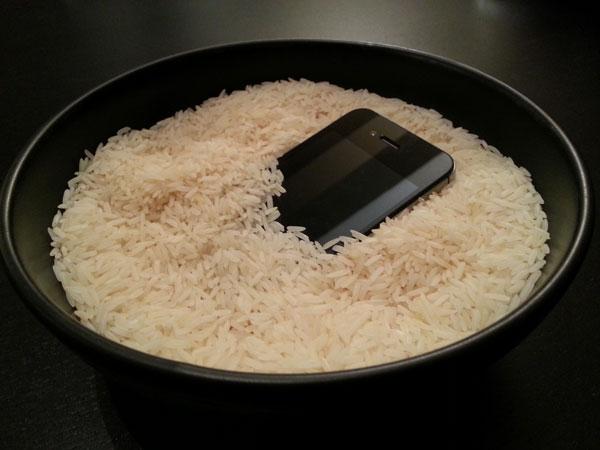 telefono nel riso