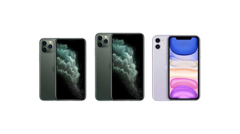 iPhone 11, 11 Pro e Pro Max