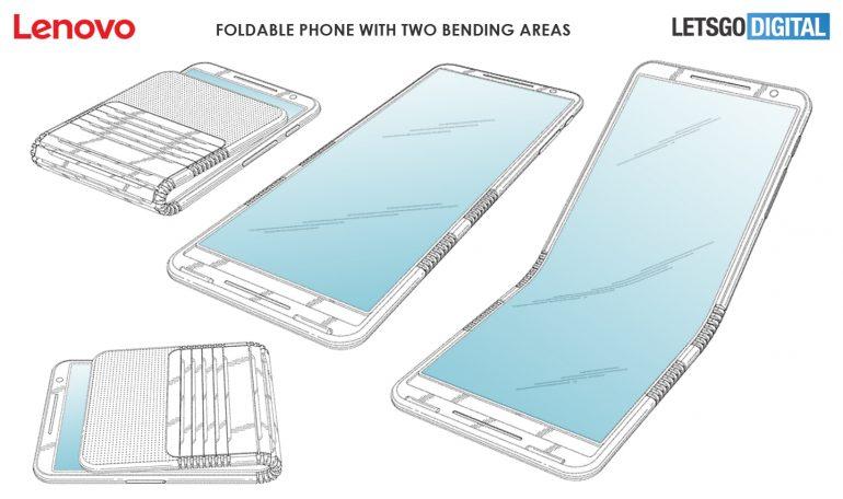 smartphone pieghevole lenovo