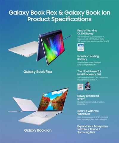 samsung galaxy book flex e ion