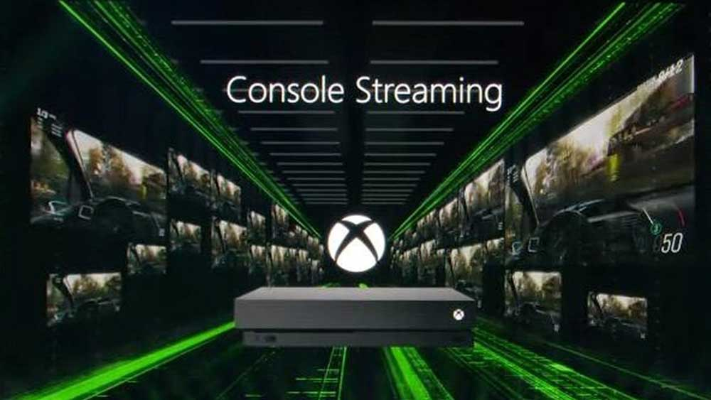 xbox one console streaming