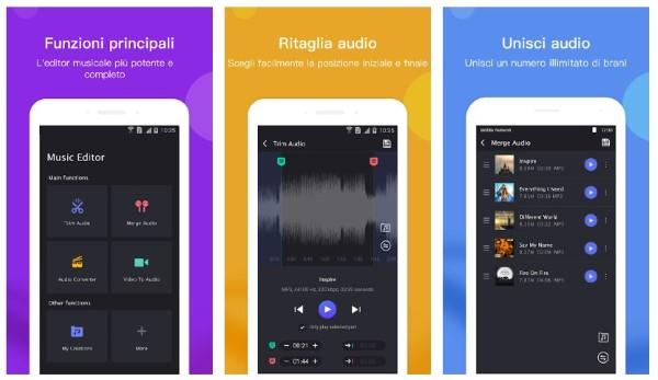 app di audio editing musicale