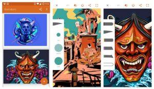Adobe Illustrator Draw app per grafica