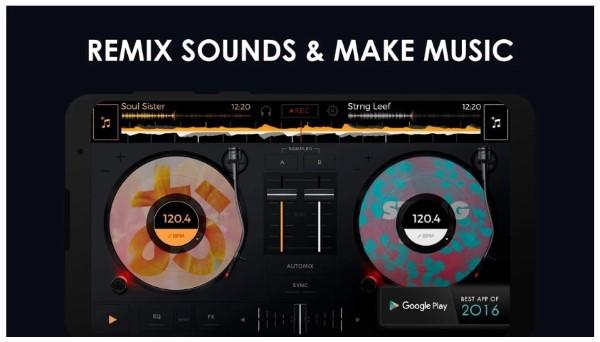 edjing Mix: Free music mixer DJ app