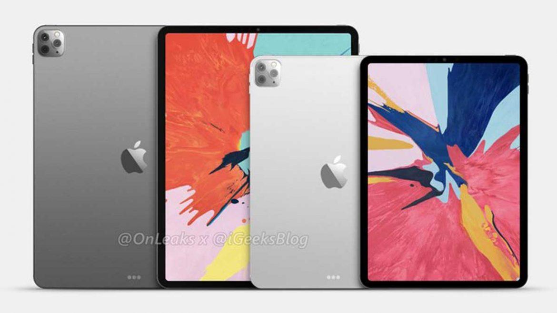 apple ipad pro 2020 render