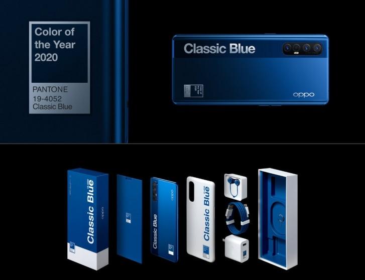 reno3 pro classic blue