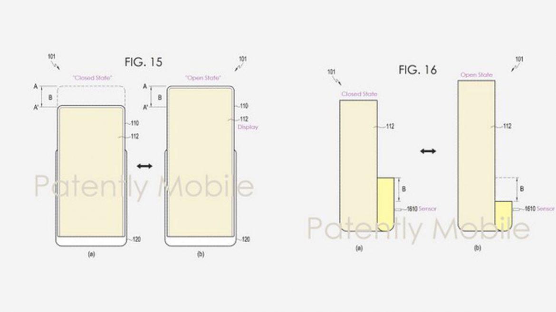 samsung brevetto smartphone estendibile