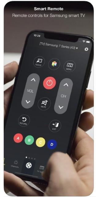 smart remote telecomando iphone