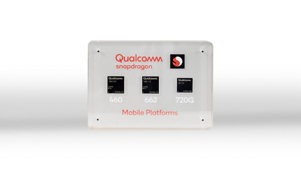 qualcomm snapdragon 720g, 662 e 460